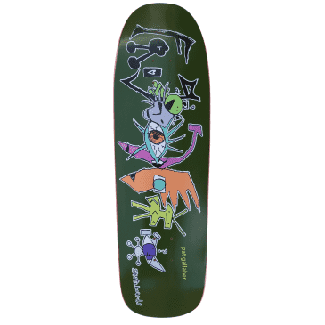 """Frog ""Pat G Craziest Dream"" shaped Skateboard Deck 8.6"""