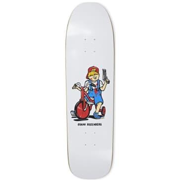 "Polar Oski Tricycle 1991 JR Special Shape Skateboard Deck - 8.65"""