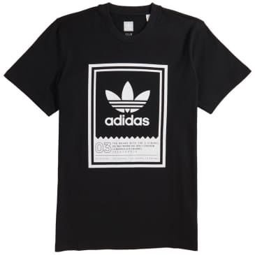 adidas Botsford T-Shirt - Black / White