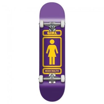 "Girl Sean Malto '93 Til Complete Skateboard 8.125"" Purple"