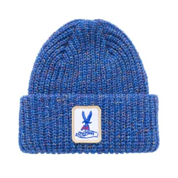 Fucking Awesome Beanie Hawk Speckle Blue