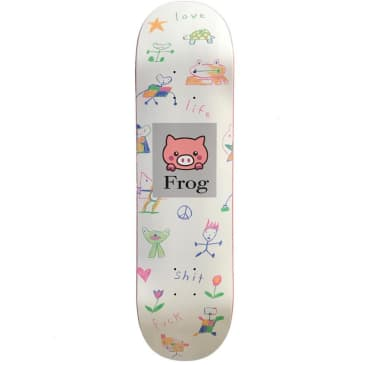 "Frog Skateboards - 8.25"" Love Life Deck"