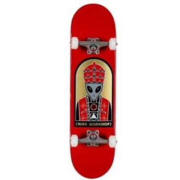Priest Complete Skateboard (Red) 8.25