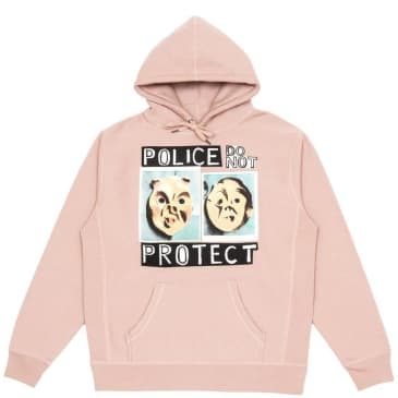 Iggy NYC Police Do Not Protect Hoodie - Light Pink