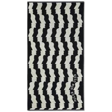 Polar Skate Co Faces Beach Towel - Black / White