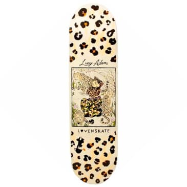 """Lovenskate - Lucy Adams Master Of Camouflage Deck 8.1"""" Wide"""