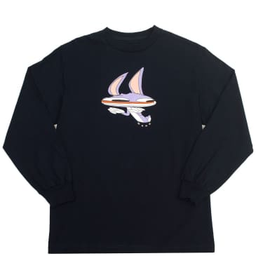 WKND Welcome to Earth Longsleeve T-Shirt - Navy
