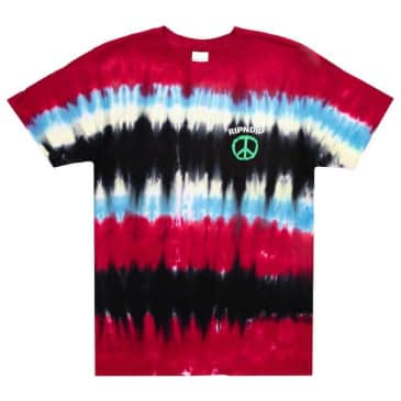 RIPNDIP Peace No Love Tie Dye T-Shirt