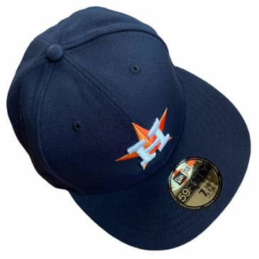 New Era Hat 5950 Houston Astros Fitted Navy