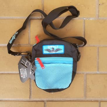 IMPACT x BUMBAG Compact Shoulder Bag - Black / Blue