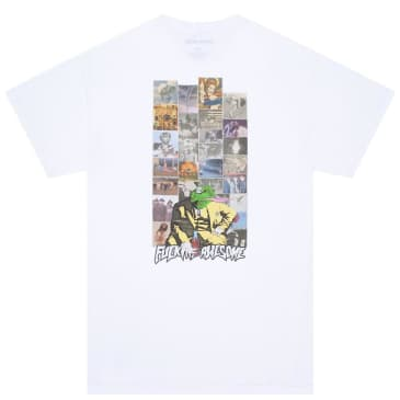Fucking Awesome Frogman 2 T-Shirt - White