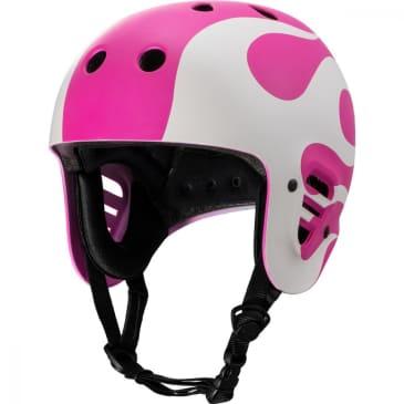 Full Cut Gonz Flame Helmet (Purple/White)