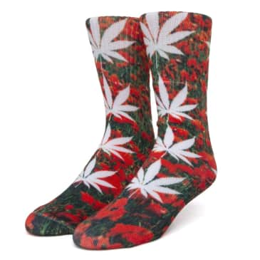 HUF Digital Plantlife Socks Poppy