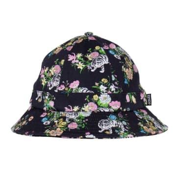Rip N Dip Blooming Nerm Cotton Twill Bucket Hat - Black