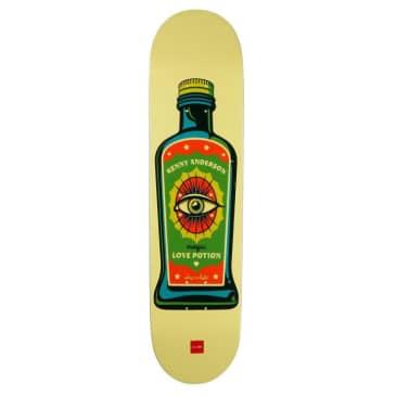 Chocolate Skateboards Hecox Essentials Kenny Anderson Skateboard Deck - 8.25
