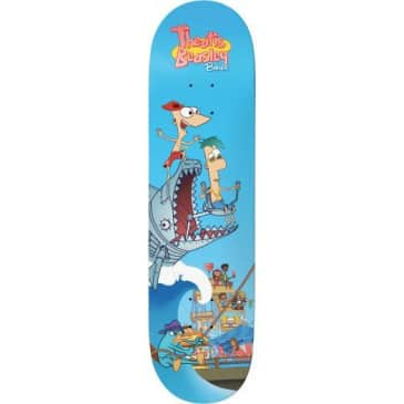 Baker Skateboards Theotis Step Brothers Skateboard Deck - 8""