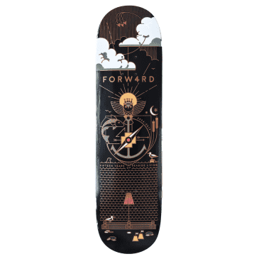 """Forw4rd Copper Crest Deck - 8.25"""" 8.375"""" 8.5"""""""