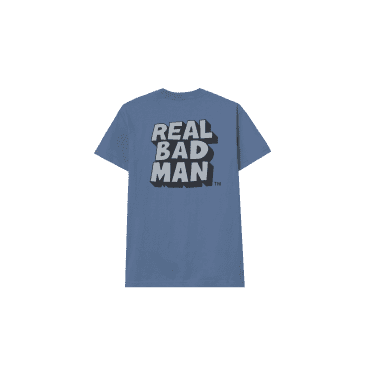 Real Bad Man RBM Logo Vol. 6 T-Shirt - Slate