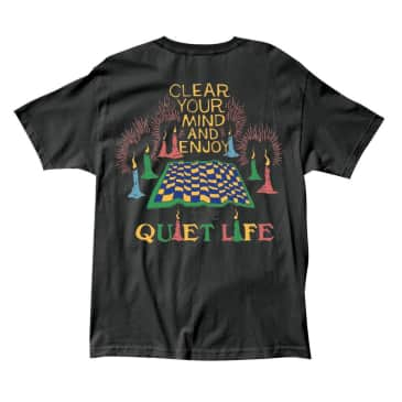 The Quiet Life - Clear Your Mind T - Black