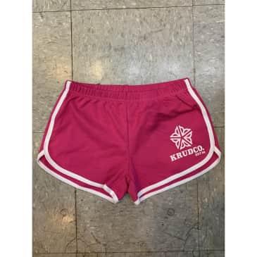 Krudco Ladies Hot Pink Rochester Gym Shorts