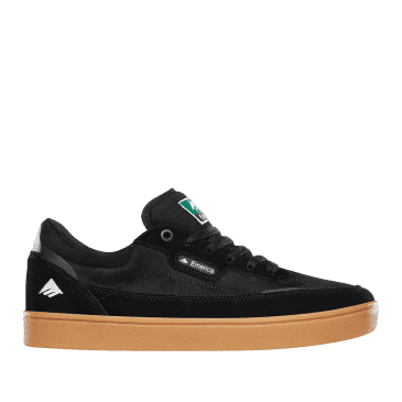 Emerica Gamma Skate Shoes - Black / Gum