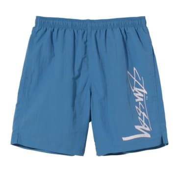 Stüssy Smooth Stock Water Short - Blue
