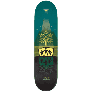 Alien Workshop Yaje Deck Shelter Green 8.125""