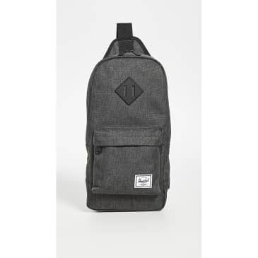 Herschel Heritage Shoulder Bag - Black Crosshatch
