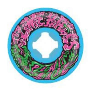 Slime Balls Wheels Vomit Mini 2 Blue 97a 53mm