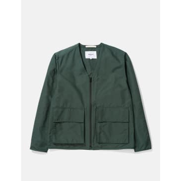 Norse Projects Otto Econyl Jacket - Dartmouth Green