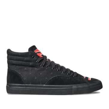 Diamond Supply Co Select Hi (Deathwish) Skate Shoes - Black / Red