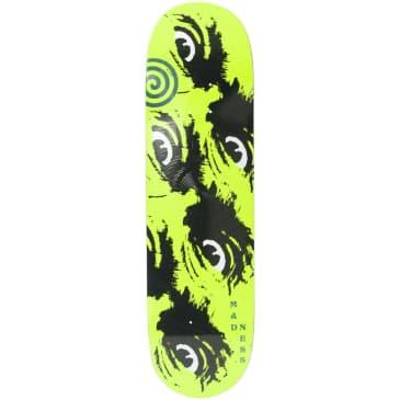 "Madness Skateboards - 8.5"" Side Eye R7 Skateboard Deck (Neon Yellow)"