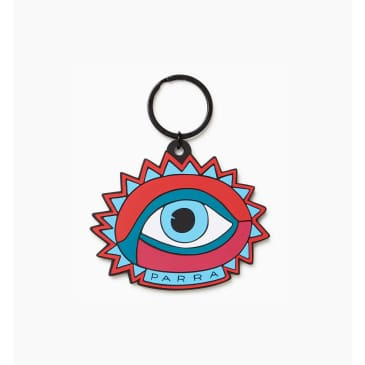 by Parra - open eye key chain