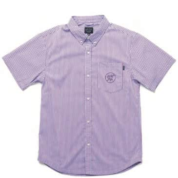 The Quiet Life Timmy Button Down Shirt - Blue / Purple