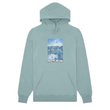 FA HELICOPTER HOODIE - TEAL