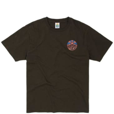 Hikerdelic Patch Logo T-Shirt - Military Green