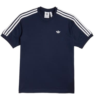 adidas Aero Club Jersey T-Shirt - Collegiate Navy / White
