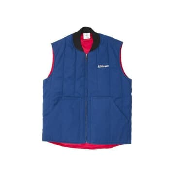 Alltimers Delivery Vest Blue Red