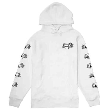 Fucking Awesome Box Wings Hoodie - White