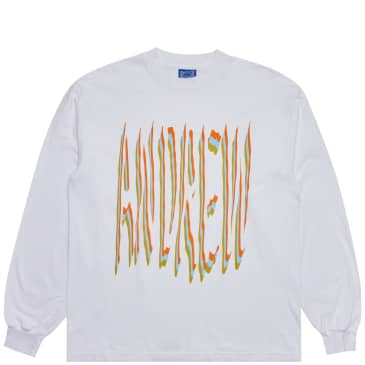 Andrew 2wo2imes Type Long Sleeve T-Shirt - White