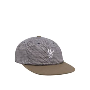 Huf Micro Houndstooth 6 Panel Hat, green
