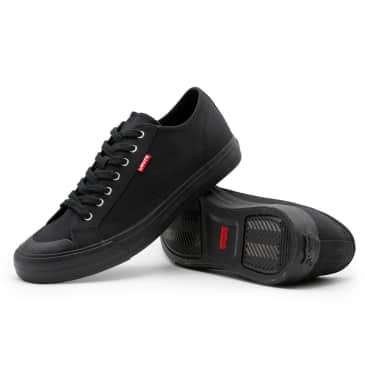 Levis Hernandez Canvas Shoes - Brilliant Black