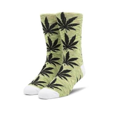 HUF Plantlife Melange Sock - Green