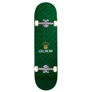 """Gilnow Traders 'Time Piece' Complete Skateboard 8.5"""""""