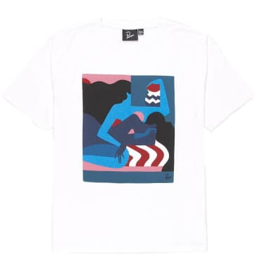 by Parra The Comforting Room T-Shirt - White
