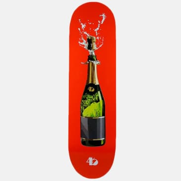 District 46 Champagne Orange Skateboard Deck - 8.5
