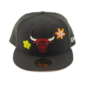 New Era - Chicago Bulls Flower Power 59Fifty Fitted - Various Sizes