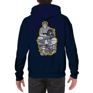 Focus Sea n & Friends Hooded Sweatshirt - Navy