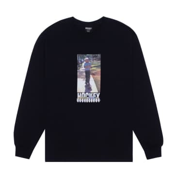 Hockey Neighbor Long Sleeve T-Shirt - Black