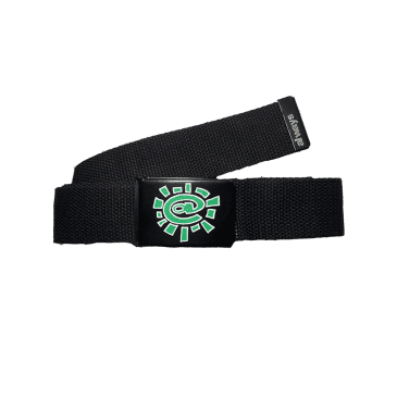 always do what you should do - black silk screen belt